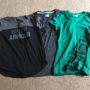 3 under armour t shirts